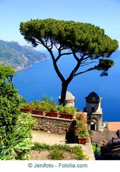 Mittelmeer Steilküste